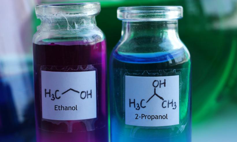 Isopropyl Alcohol Versus Ethanol